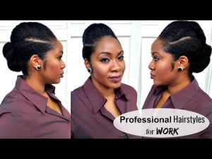 PROFESSIONAL HAIR STYLES FOR WORK